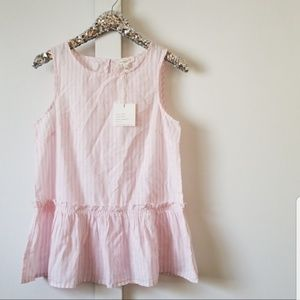 NWT beachlunchlounge   sleeveless top size small